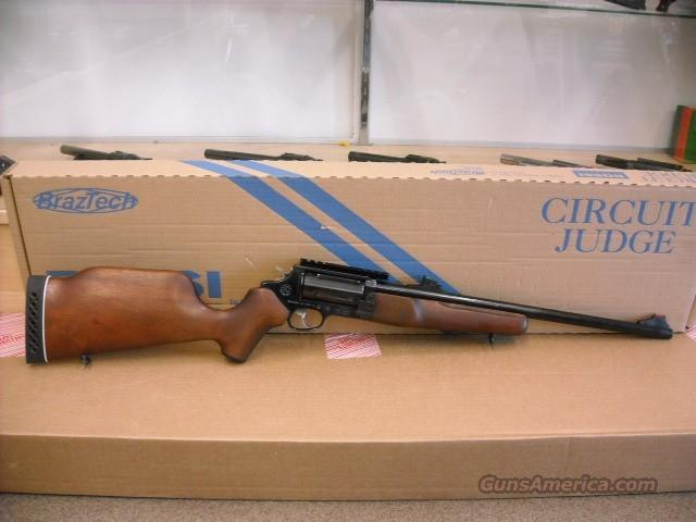 ROSSI CIRCUIT JUDGE 410 45 LC BRAZTECH TAURUS  Guns > Rifles > Rossi Rifles > Other