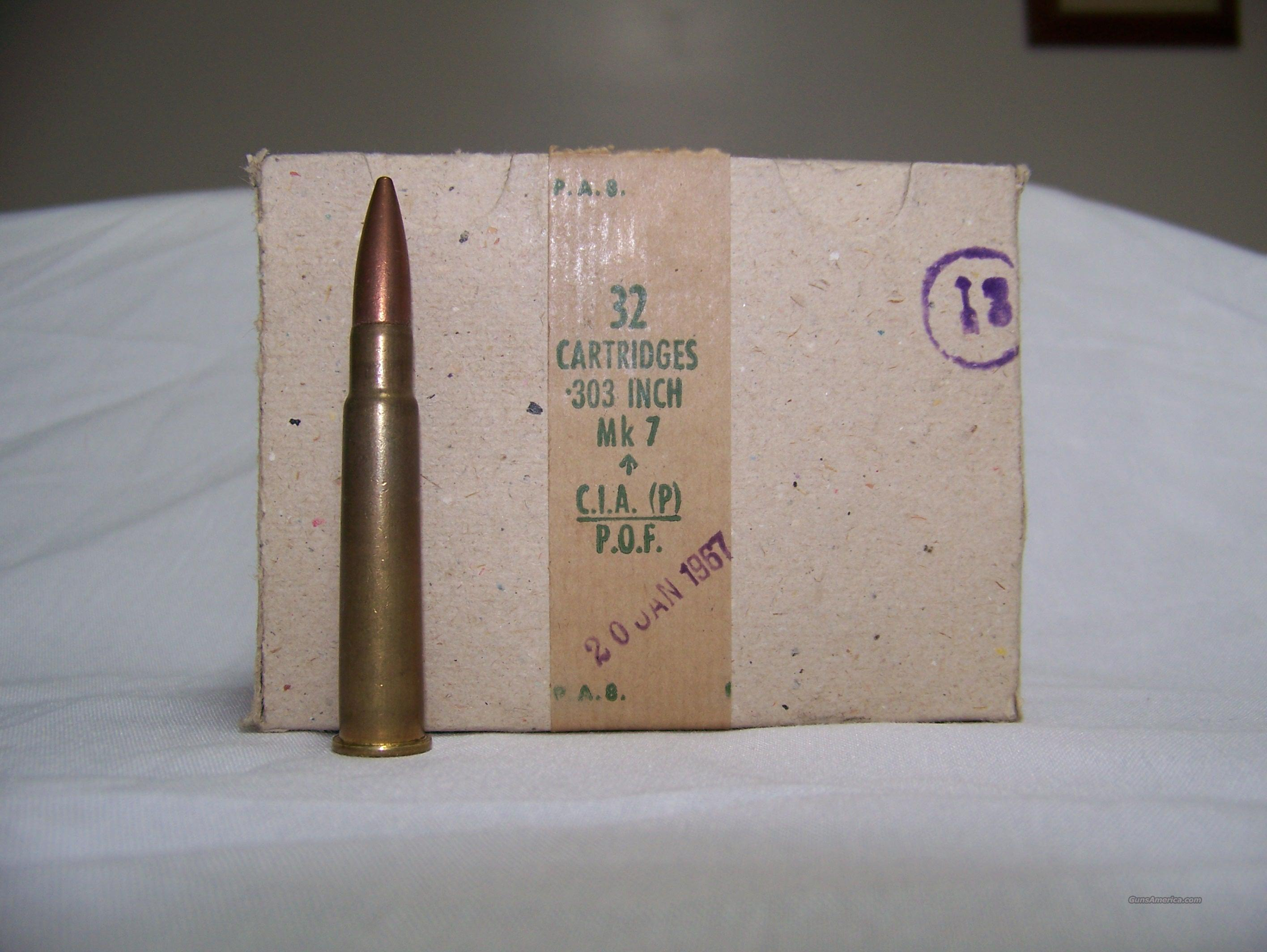 303 British  ammo   Non-Guns > Ammunition
