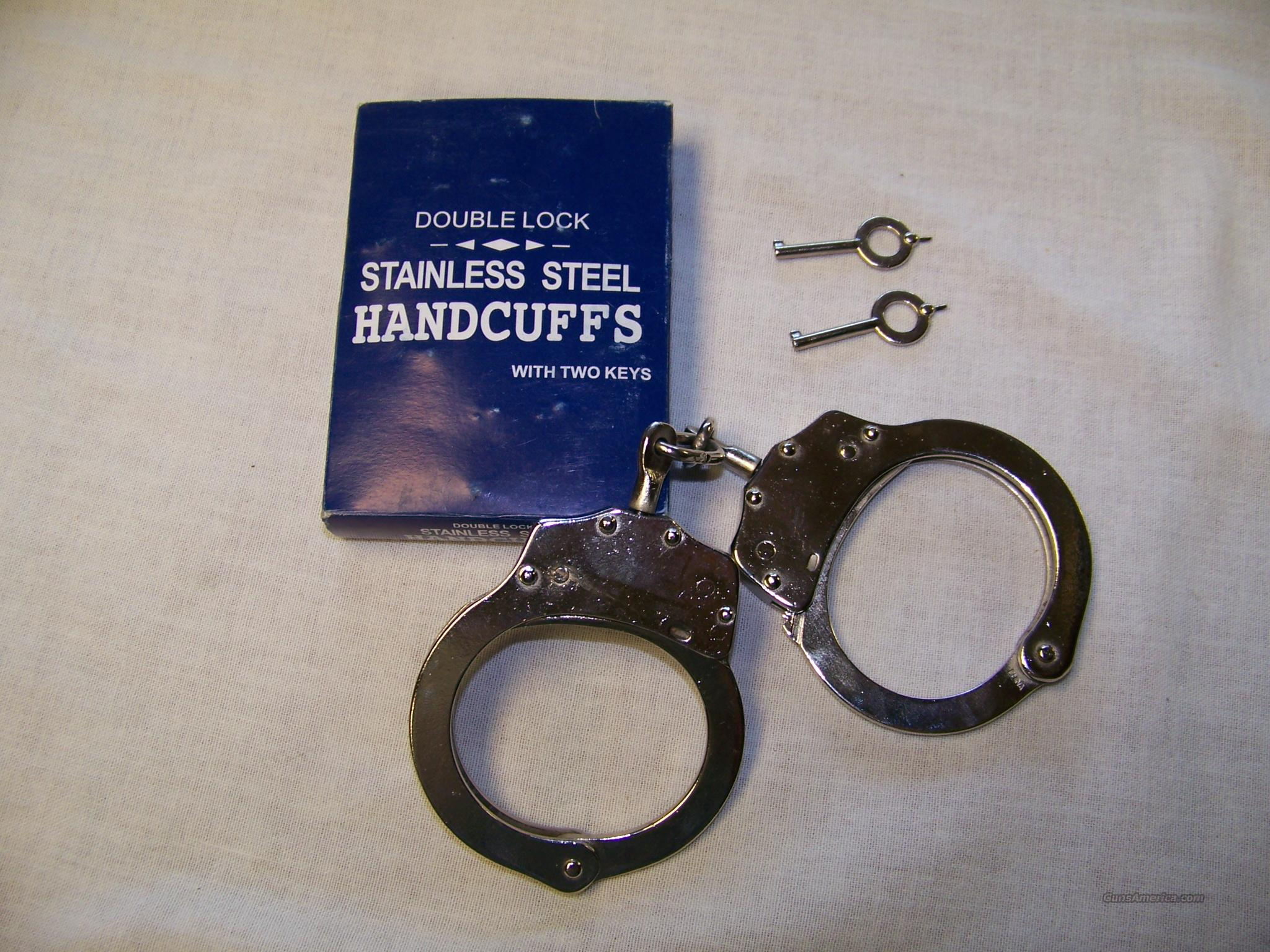 Stainless Steel Handcuffs  Non-Guns > Tactical Equipment/Vests