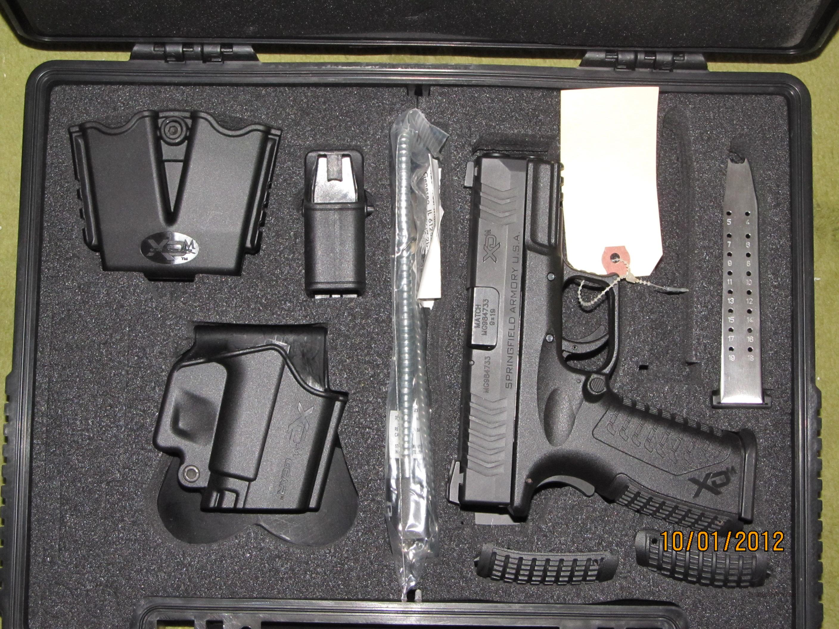 Springfield Armory XDM-9 3.8 with full grip  Guns > Pistols > Springfield Armory Pistols > XD-M