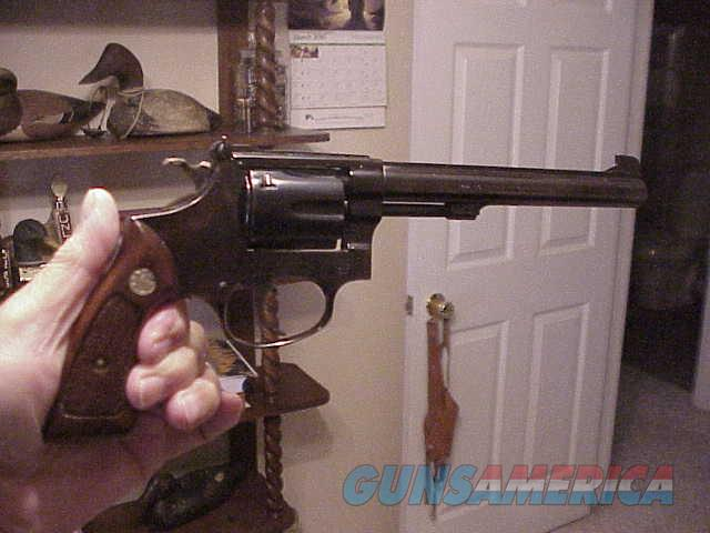 smith 22 cal mod 35-1 6 inch  98%   Guns > Pistols > Smith & Wesson Revolvers > Full Frame Revolver