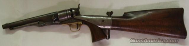 1860 Colt Army with Shoulder Stock Civil War?  Guns > Pistols > Colt Percussion Revolver - Pre-1899