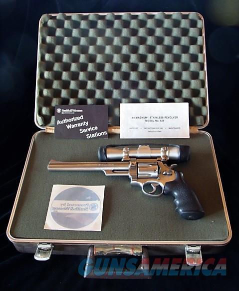 "8 3/8"" Smith & Wesson 629 w/Leupold Scope & Extras  S&W  Guns > Pistols > Smith & Wesson Revolvers > Model 629"