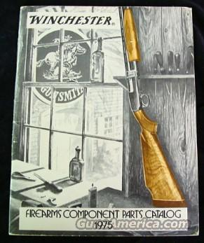 Original 1975 Winchester Gun Parts Catalong FREE SHIPPING  Non-Guns > Books & Magazines