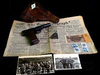 WWII Nazi German Officers Collection, Pistol & Holster + Extras  Military Misc. Pistols Non-US