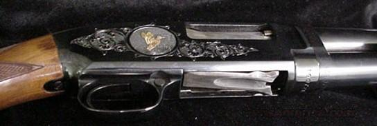 Winchester model 12 Trap gold & engraved  Guns > Shotguns > Winchester Shotguns - Modern > Pump Action