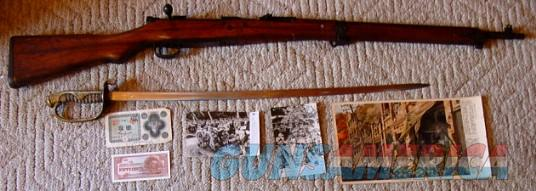 Japanese WWII Type 99 Rifle w/all Matching Numbers, Sword, Photos, Poster, Money & more  Guns > Rifles > Military Misc. Rifles Non-US > Other