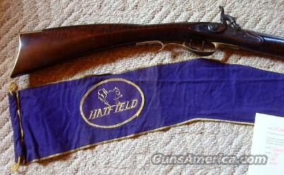 Hatfield 36 cal Kentucky Squirrel Rifle w/Letter New Unfired  Guns > Rifles > Muzzleloading Modern & Replica Rifles (perc) > Replica Muzzleloaders