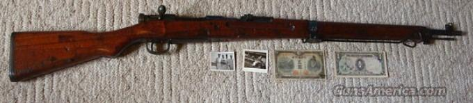 Japanese 99 Rifle w/Monopod Mum Aircraft Sights Photos and Currency  Guns > Rifles > Military Misc. Rifles Non-US > Other