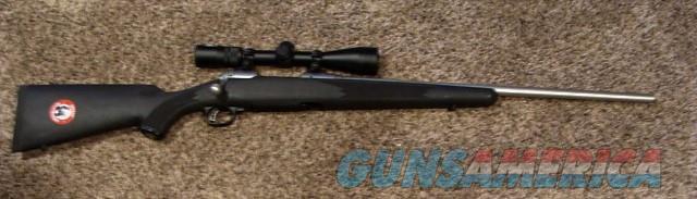 New Savage Stainless Steel Trophy Hunter 308 with Nikon Scope  Guns > Rifles > Savage Rifles > 10/110