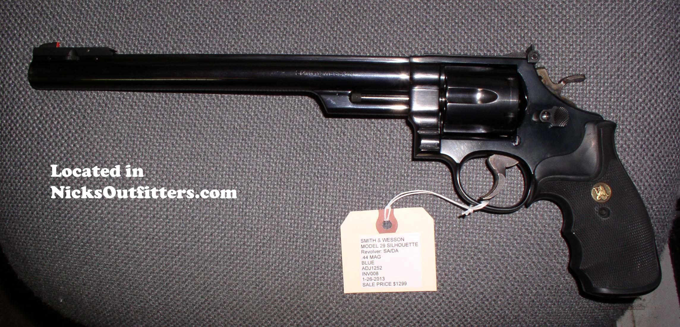 Smith & Wesson MODEL 29 SILHOUETTE  Guns > Pistols > Smith & Wesson Revolvers > Full Frame Revolver
