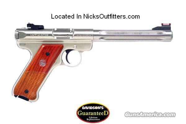 RUGER MKIII HUNTER 22PST 6.78SS AS  Guns > Pistols > Ruger Semi-Auto Pistols > Mark I & II Family