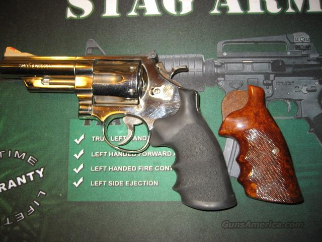 "Smith & Wesson 44 Mag 29-3 4"" Nickel extra grips  Guns > Pistols > Smith & Wesson Revolvers > Full Frame Revolver"