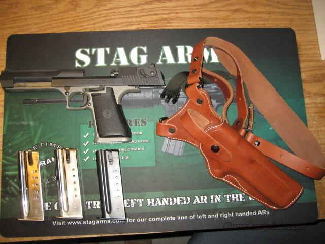 Desert Eagle 44 Magnum Stainless / Parkerized Extras  Guns > Pistols > Desert Eagle/IMI Pistols > Desert Eagle