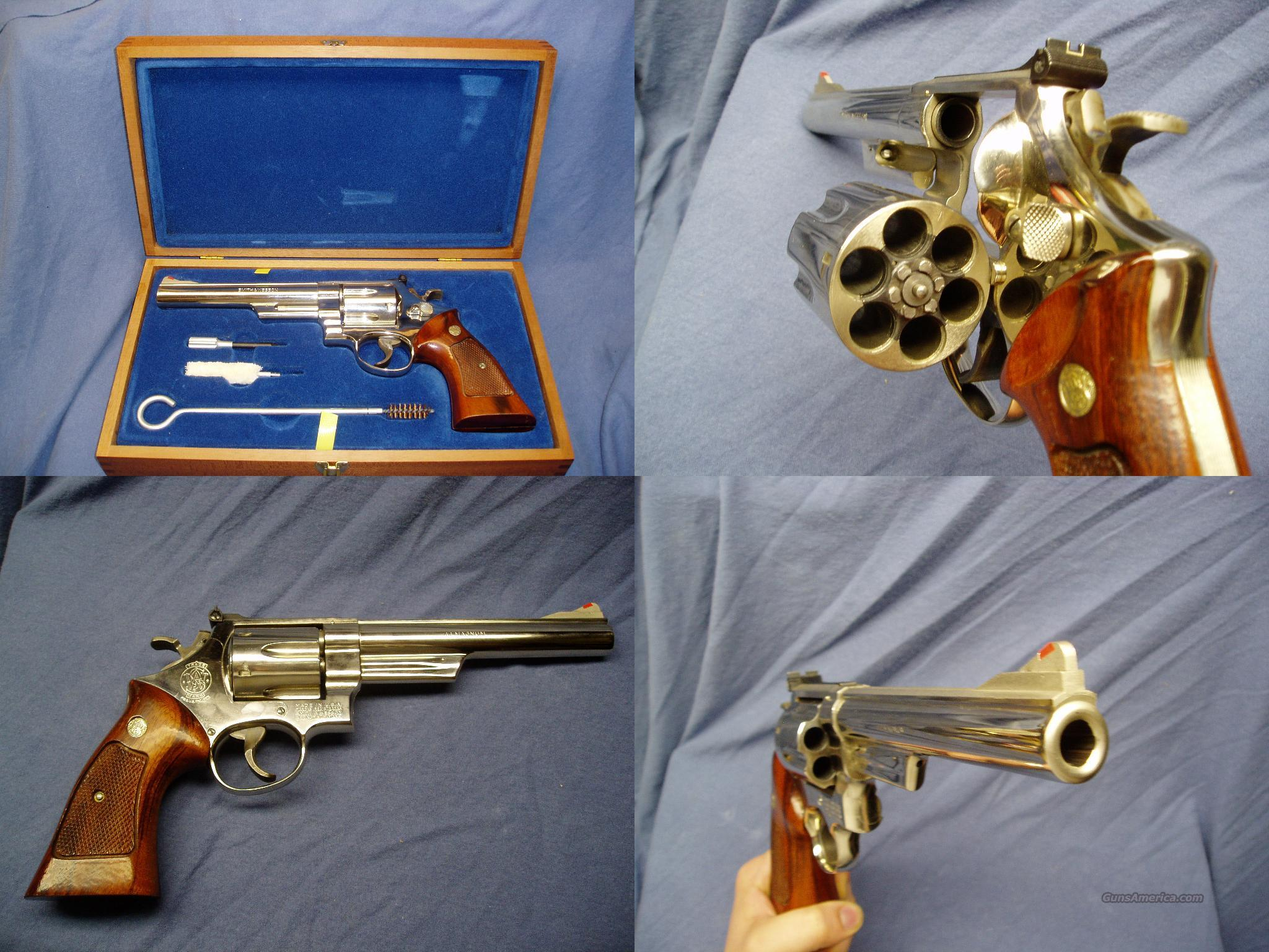 Smith & Wesson Model 29-2 Nickel Plated 44 Magnum  Guns > Pistols > Smith & Wesson Revolvers > Full Frame Revolver