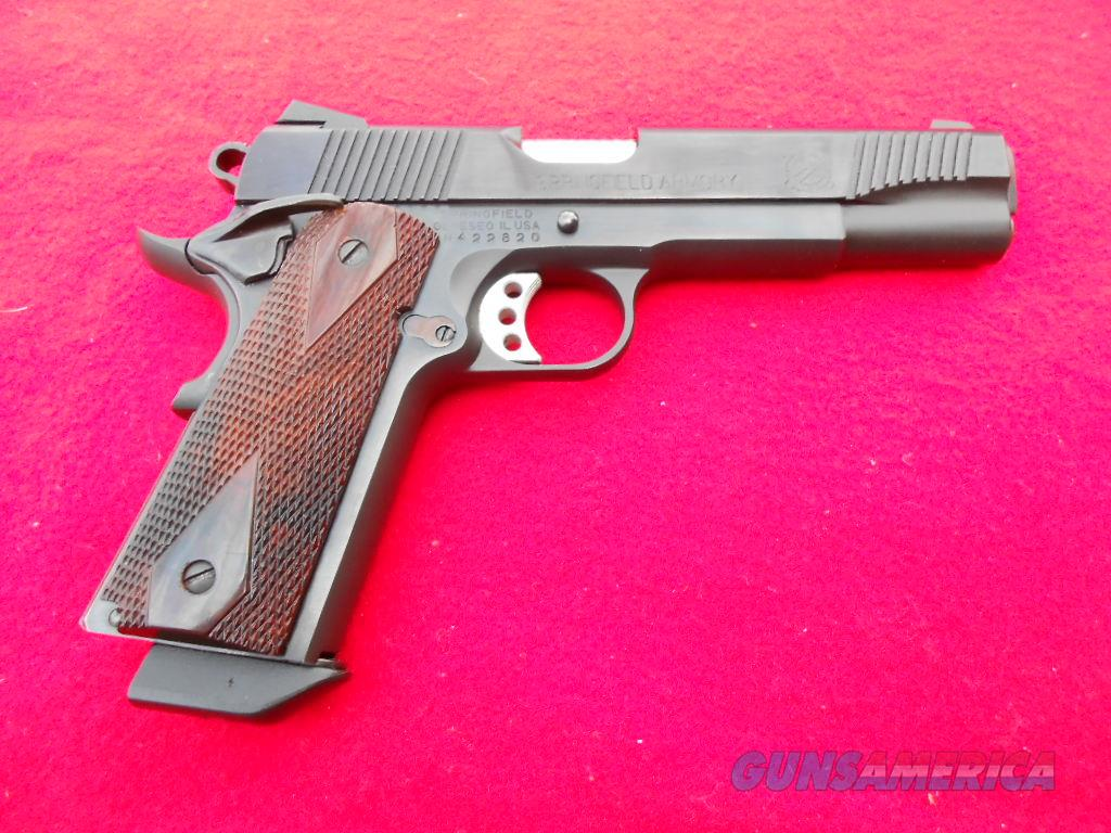 Springfield Armory 1911A1 with high polish slide  Guns > Pistols > Springfield Armory Pistols > 1911 Type