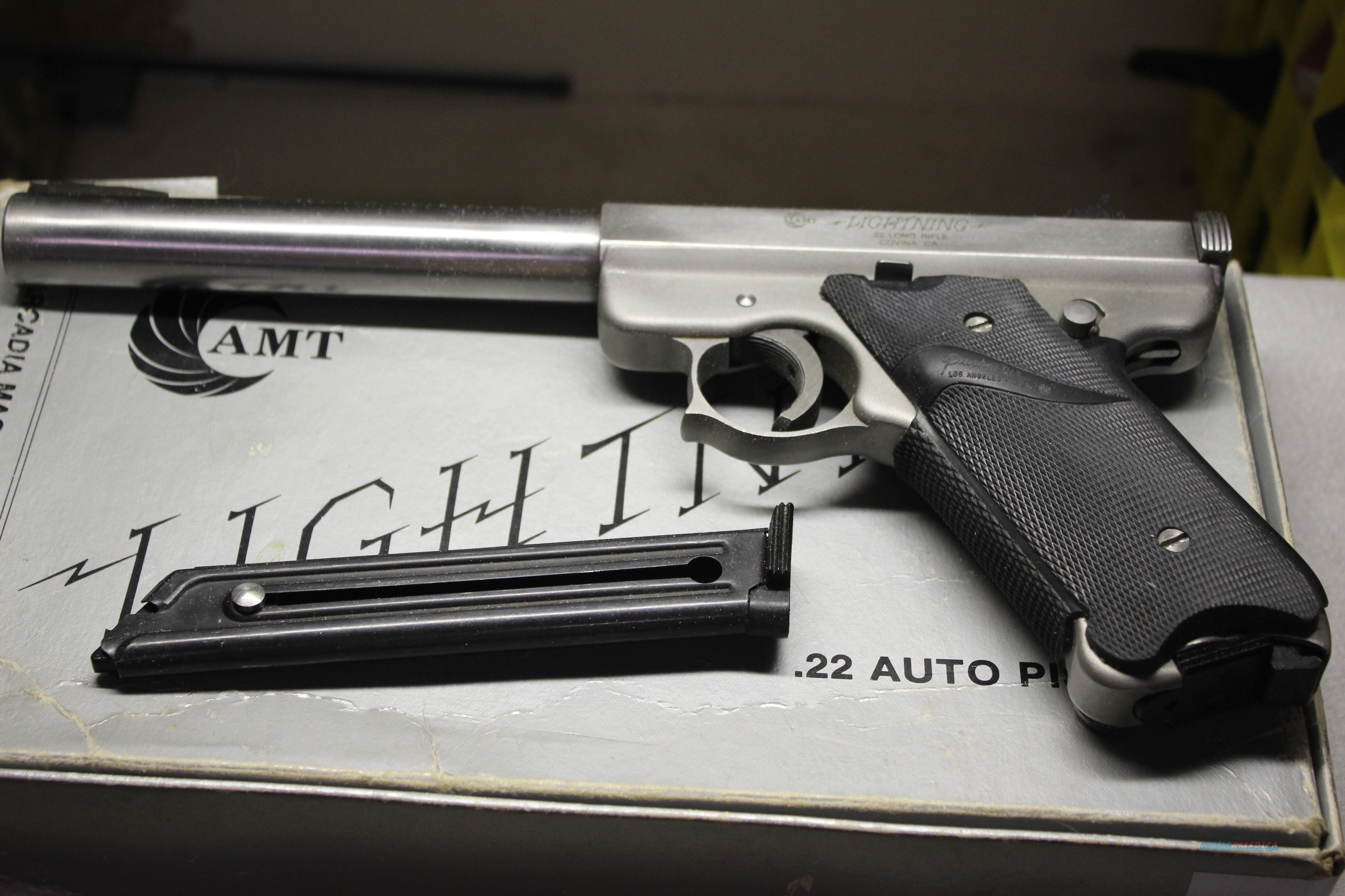 AMT LIGHTNING   Guns > Pistols > AMT Pistols > 1911 copies