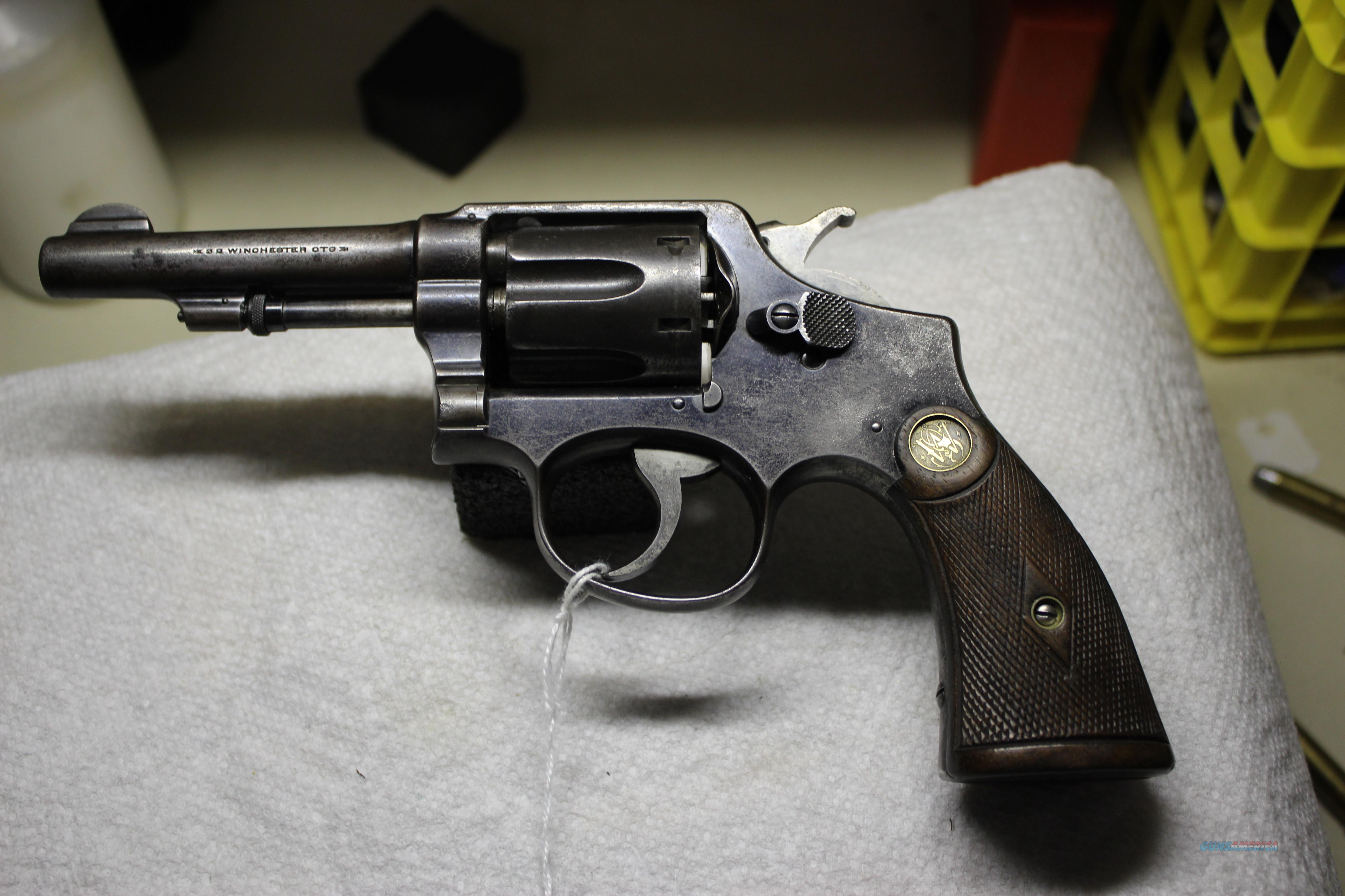 SMITH & WESSON HAND-EJECT  Guns > Pistols > Smith & Wesson Revolvers > Pre-1945