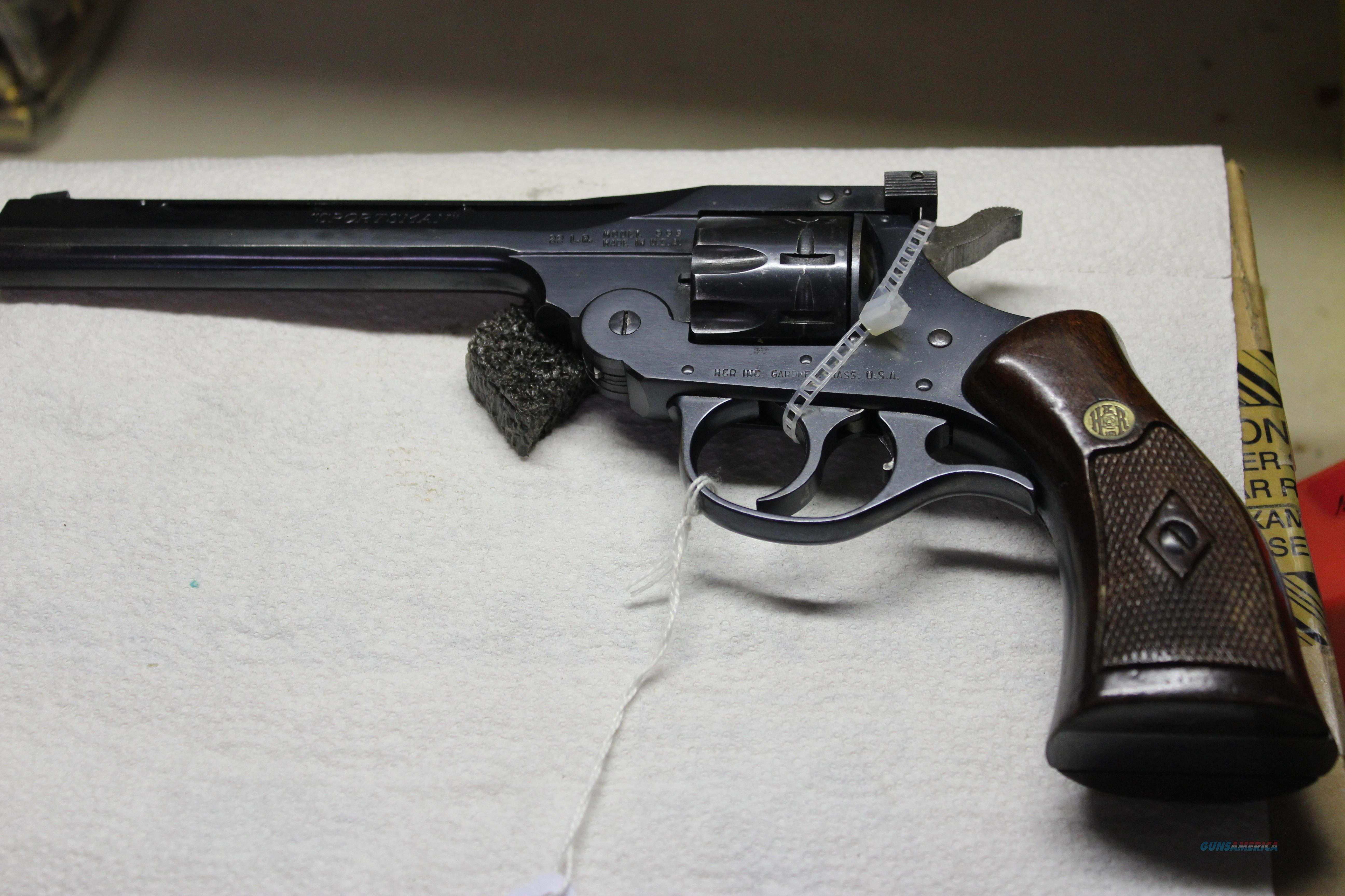 H&R 999 SPORTSMAN  Guns > Pistols > Harrington & Richardson Pistols