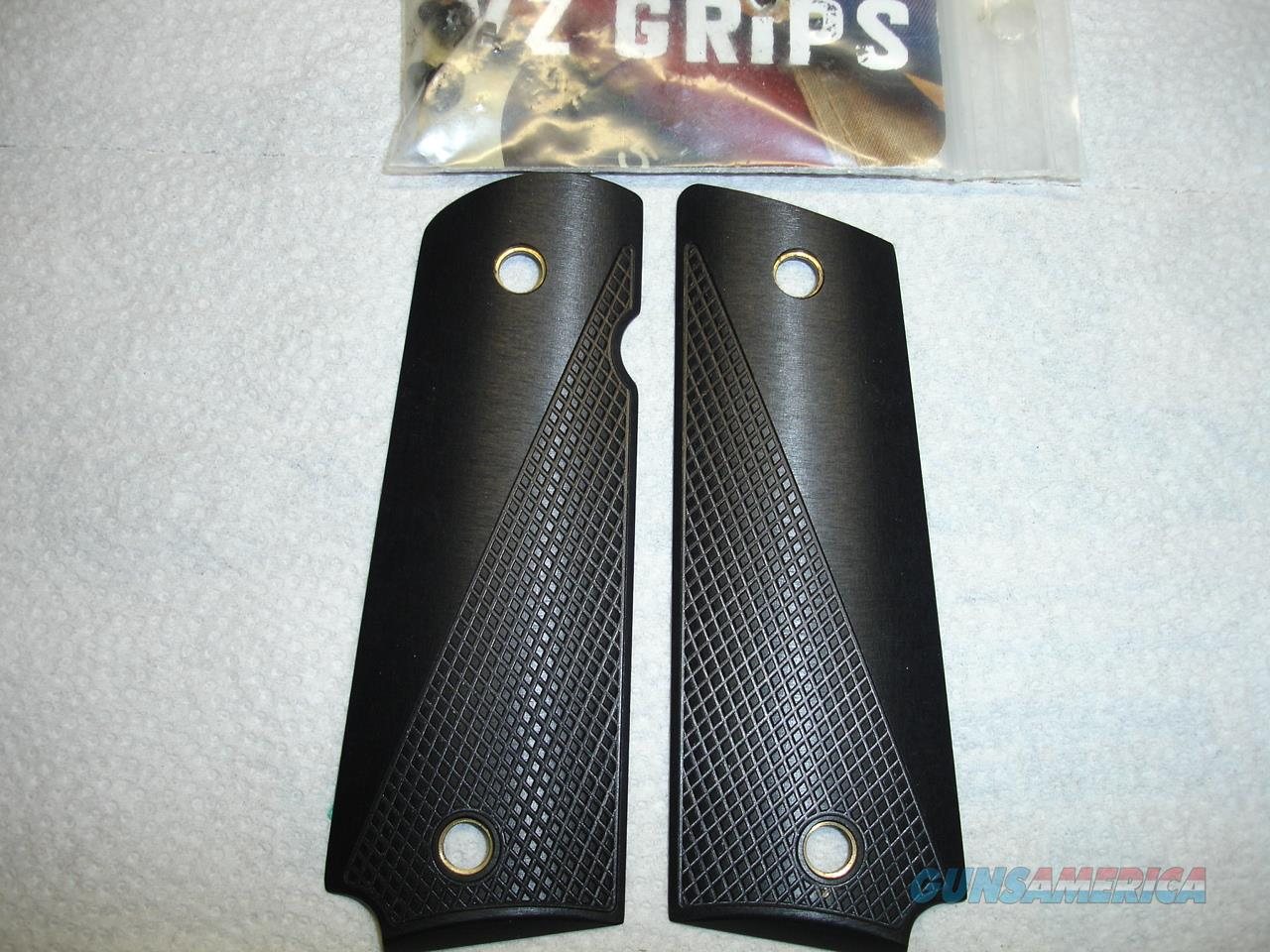 VZ ALUMINUM 1911 GRIPS  Non-Guns > Gunstocks, Grips & Wood