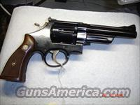 S&W MODEL 27  Guns > Pistols > Smith & Wesson Revolvers > Full Frame Revolver