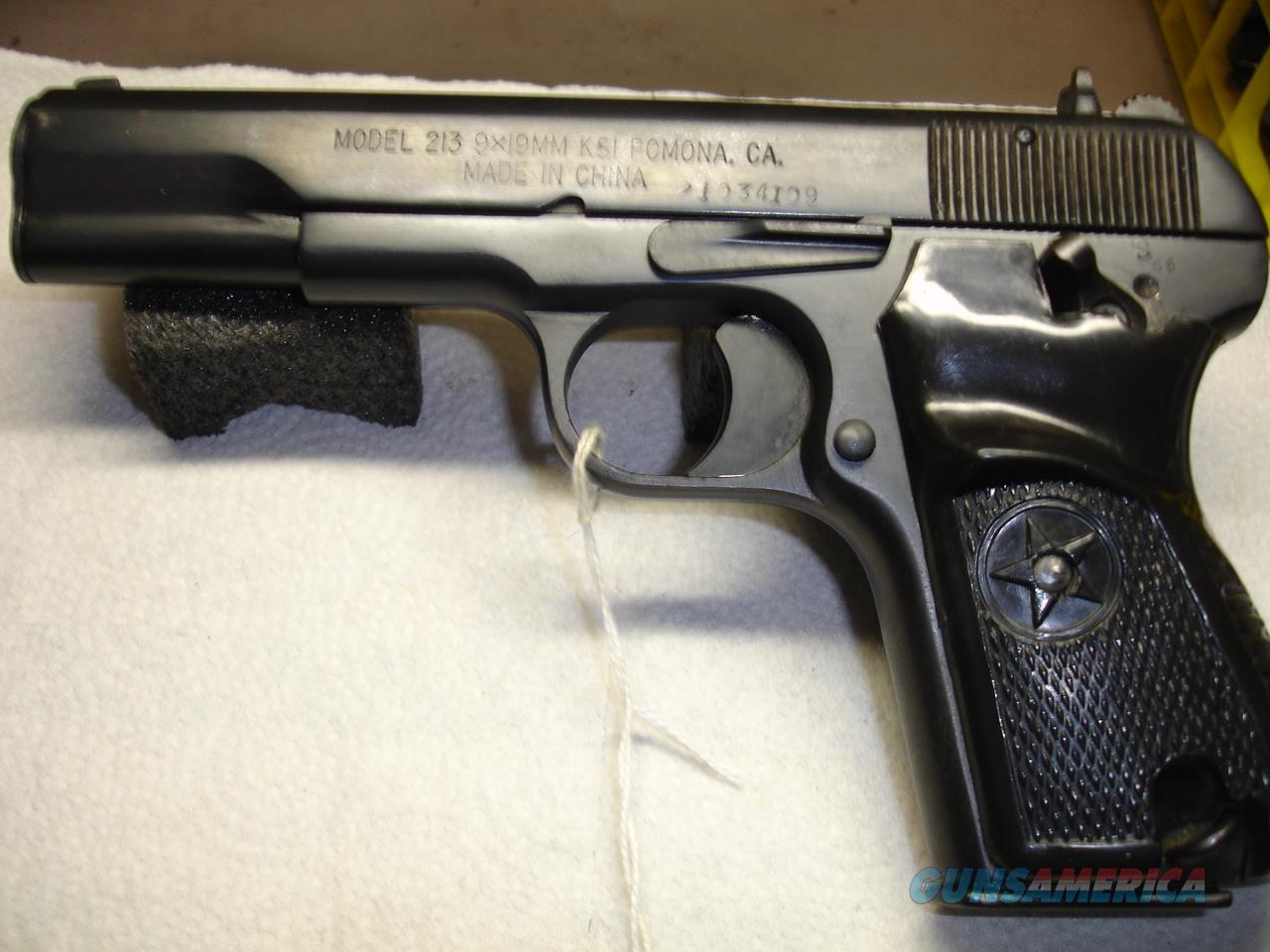 NORINCO 213  Guns > Pistols > Norinco Pistols
