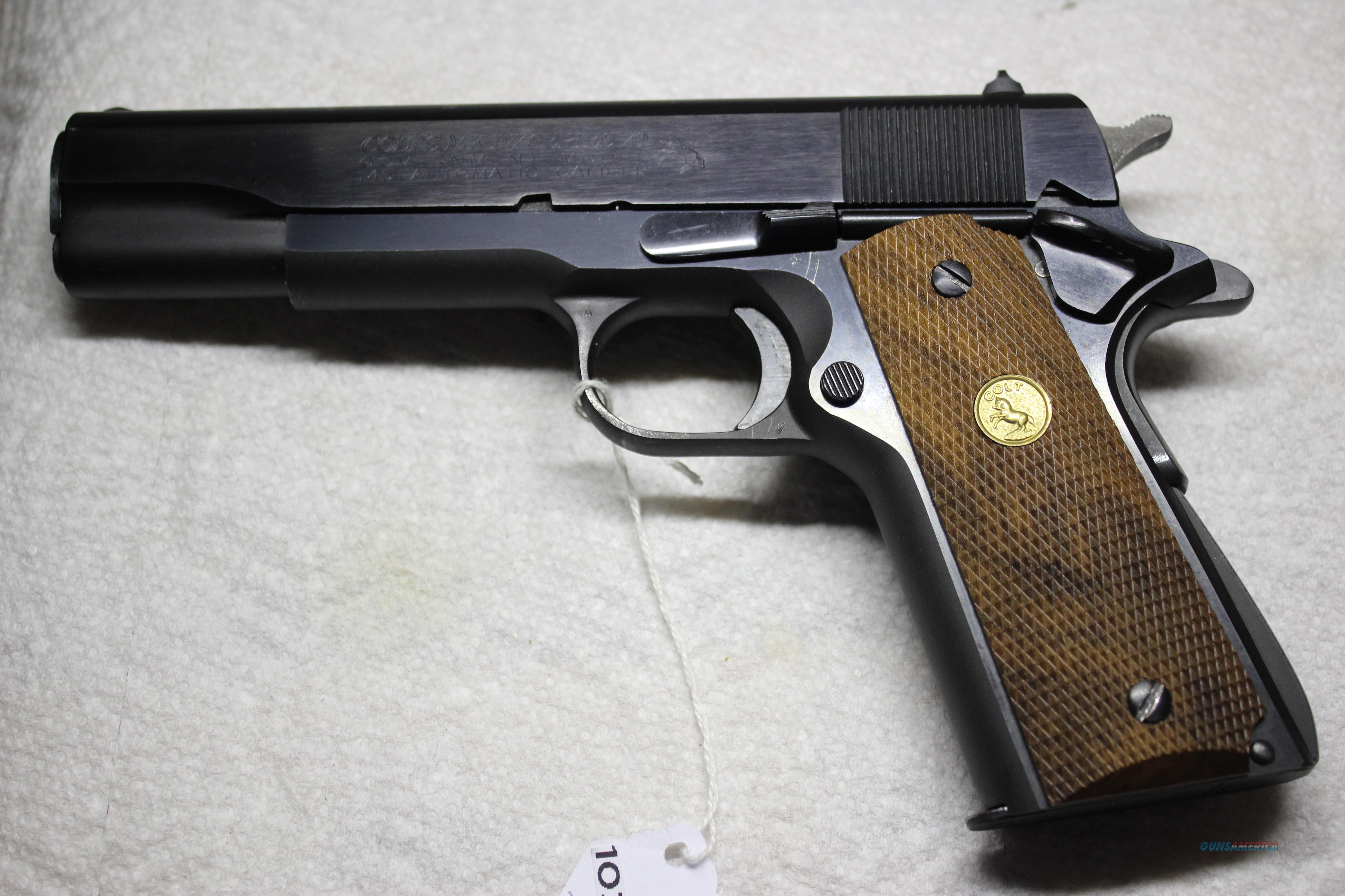 COLT SERISE 70   Guns > Pistols > Colt Automatic Pistols (1911 & Var)