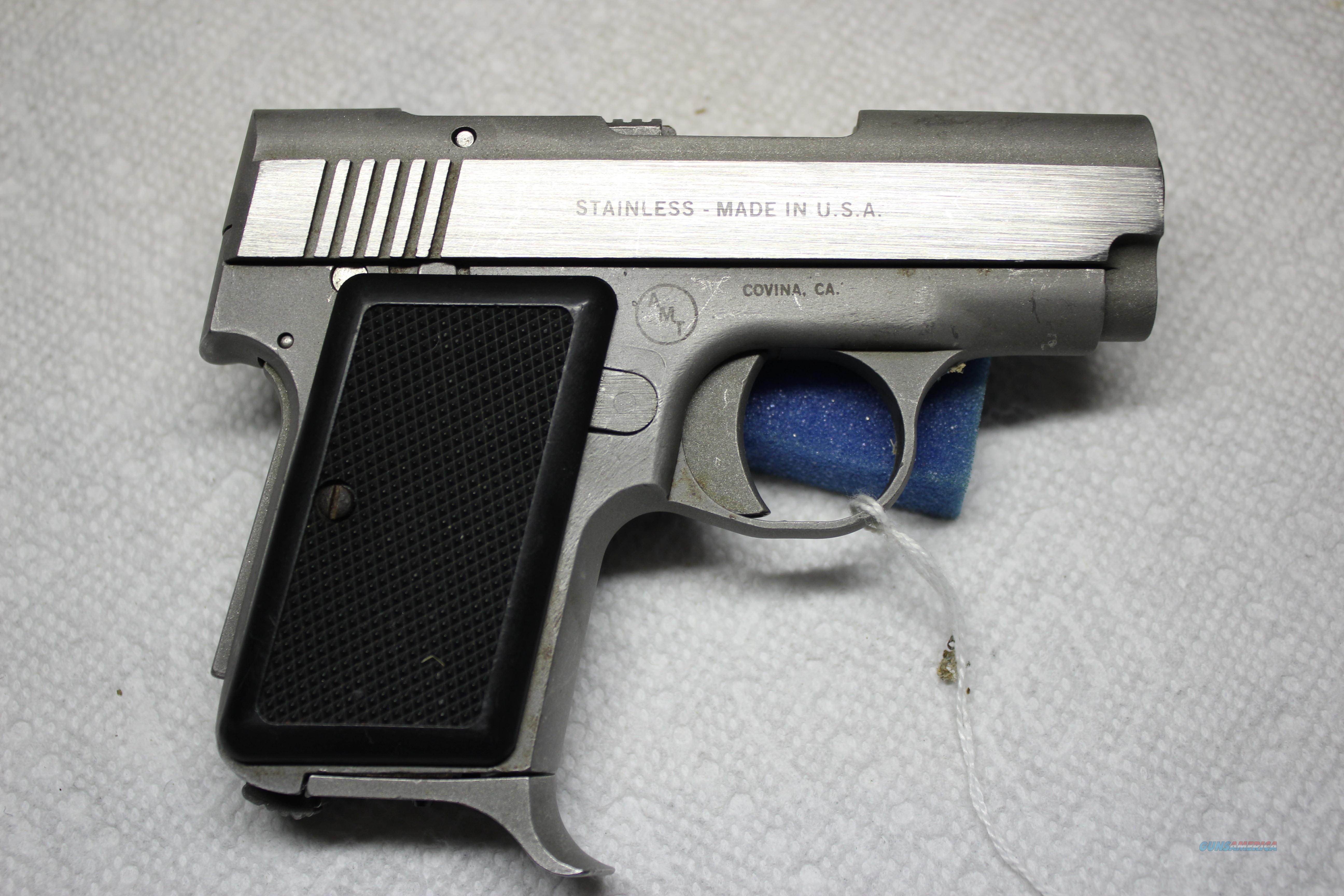 AMT BACK-UP 380  Guns > Pistols > AMT Pistols > Other