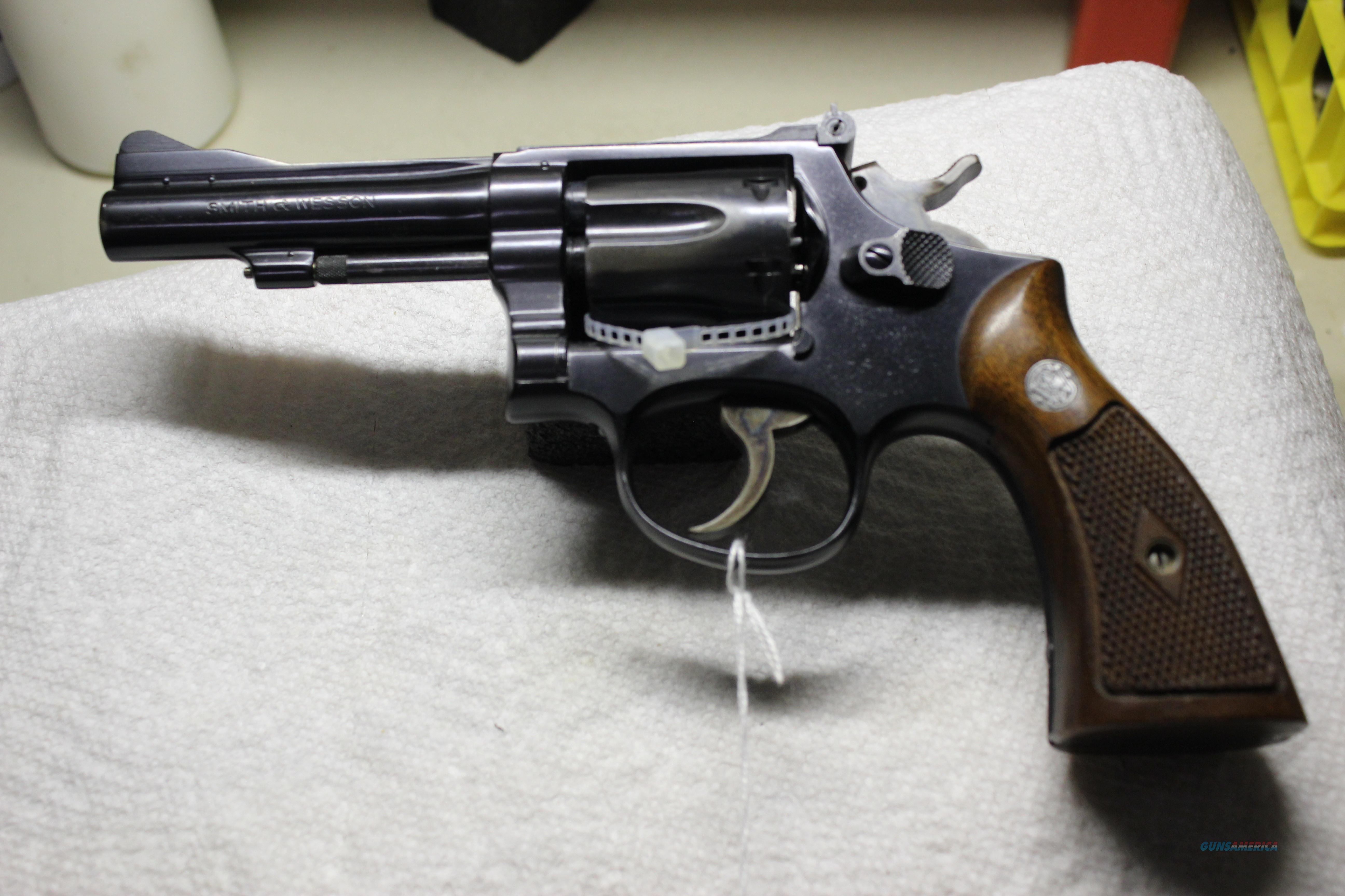 SMITH & WESSON PER MODEL 15  Guns > Pistols > Smith & Wesson Revolvers > Model 10