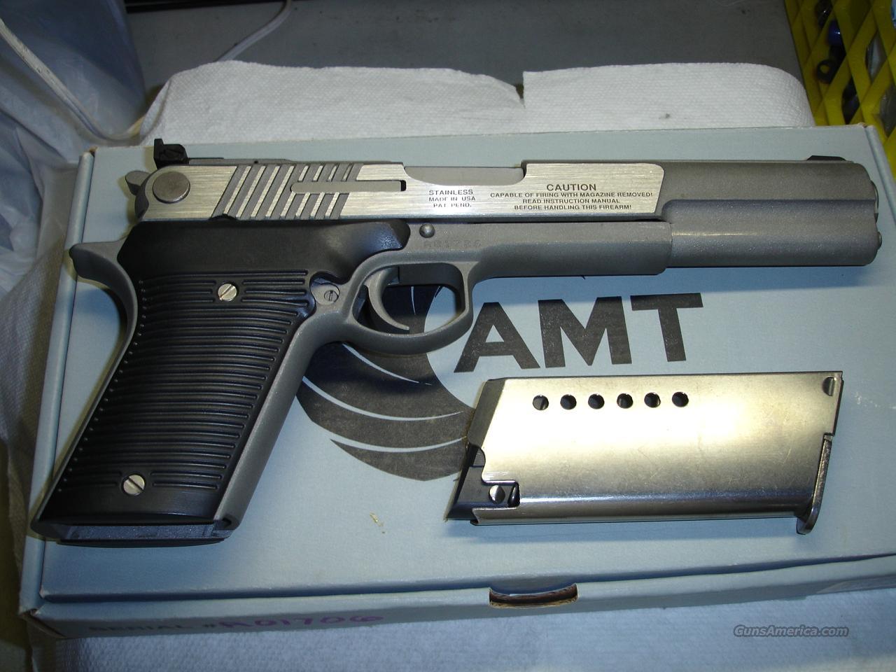 AMT AUTOMAG IV  Guns > Pistols > AMT Pistols > 1911 copies