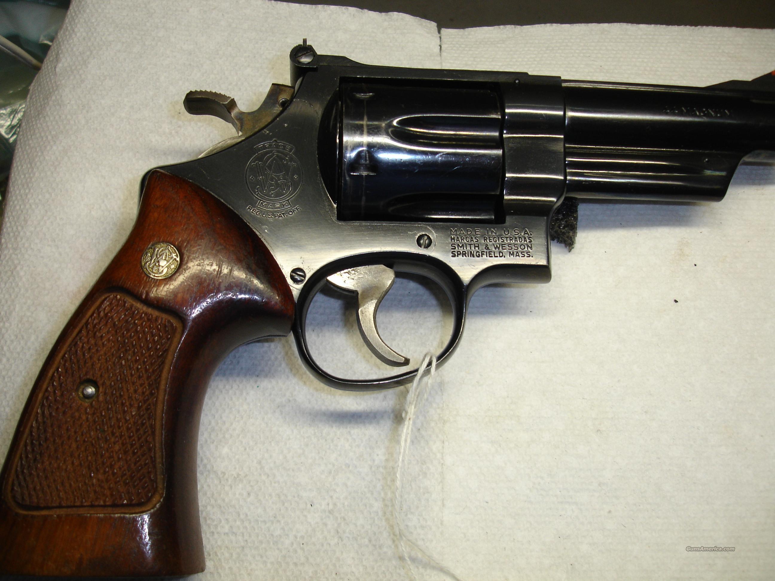 S&W MODEL 29-2  Guns > Pistols > Smith & Wesson Revolvers > Full Frame Revolver