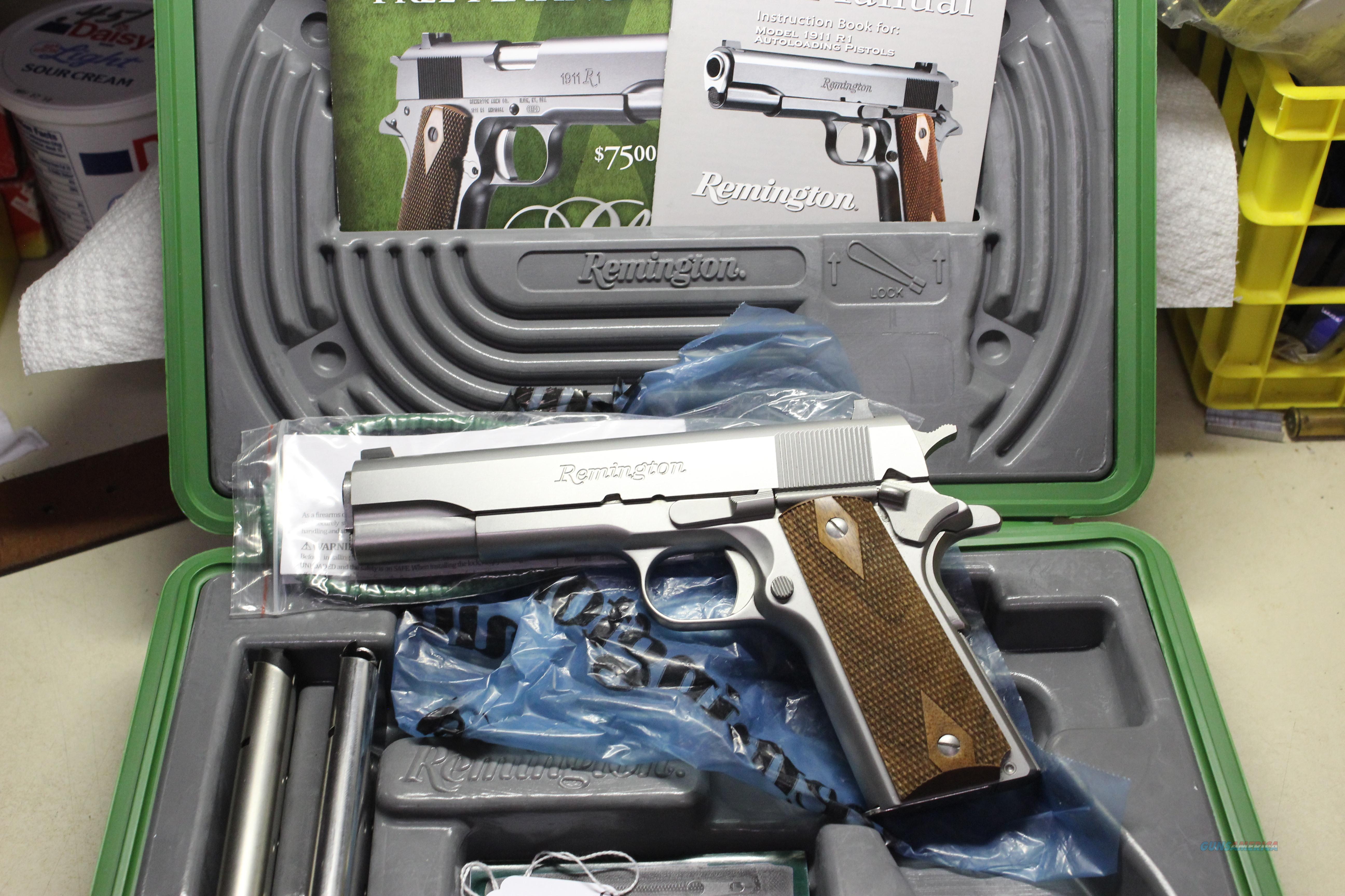 REMINGTON 1911 R1S  Guns > Pistols > Remington Pistols - Modern > 1911