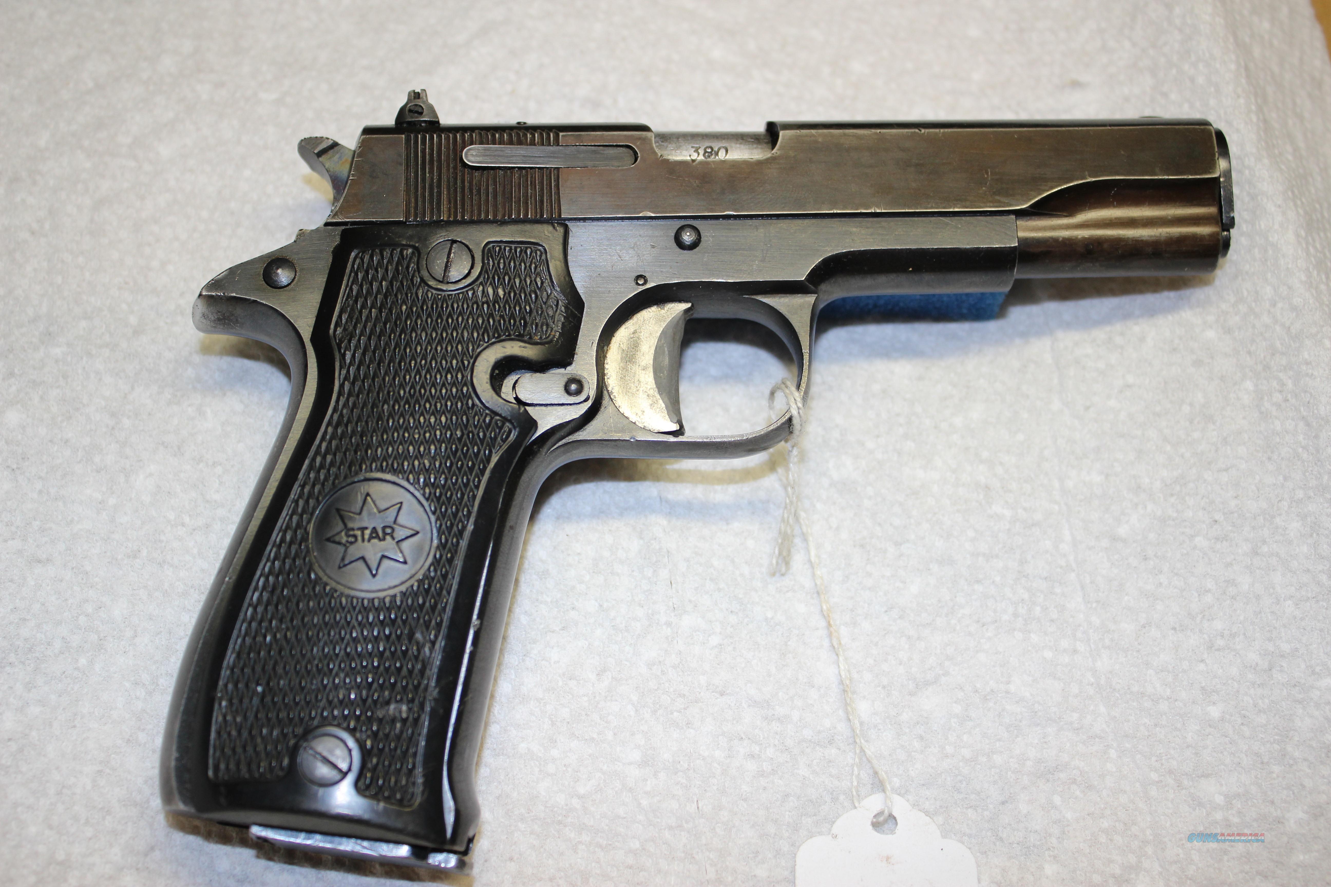 STAR MODEL SS  Guns > Pistols > Star Pistols