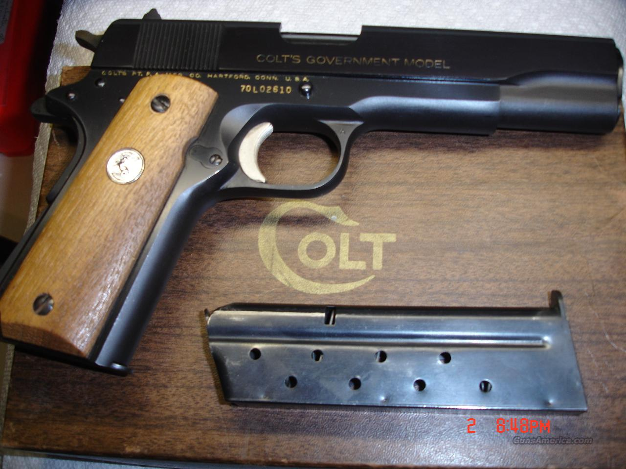 COLT SERIES 70 9MM  Guns > Pistols > Colt Automatic Pistols (1911 & Var)