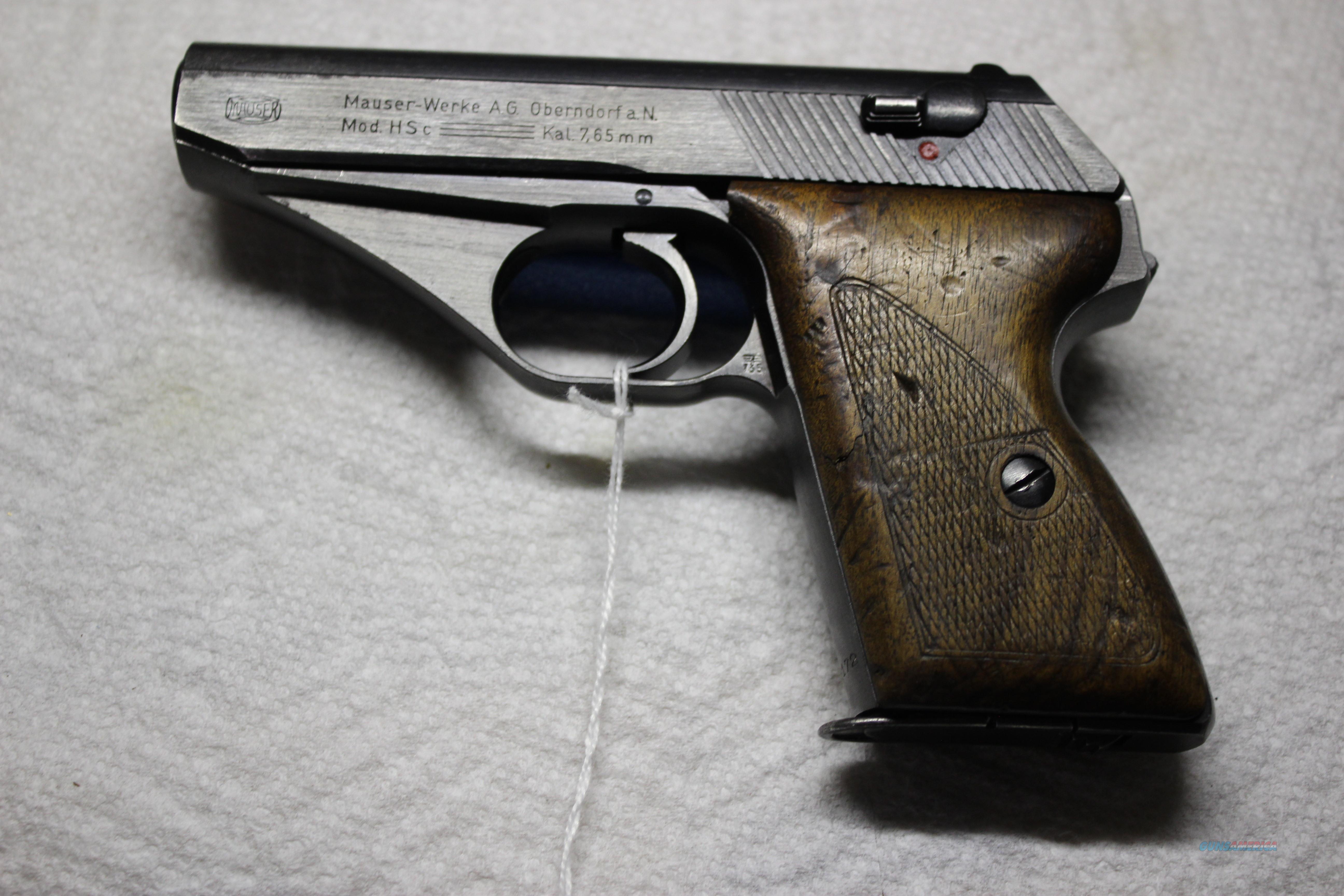 MAUSER HSC NAZI  Guns > Pistols > Mauser Pistols