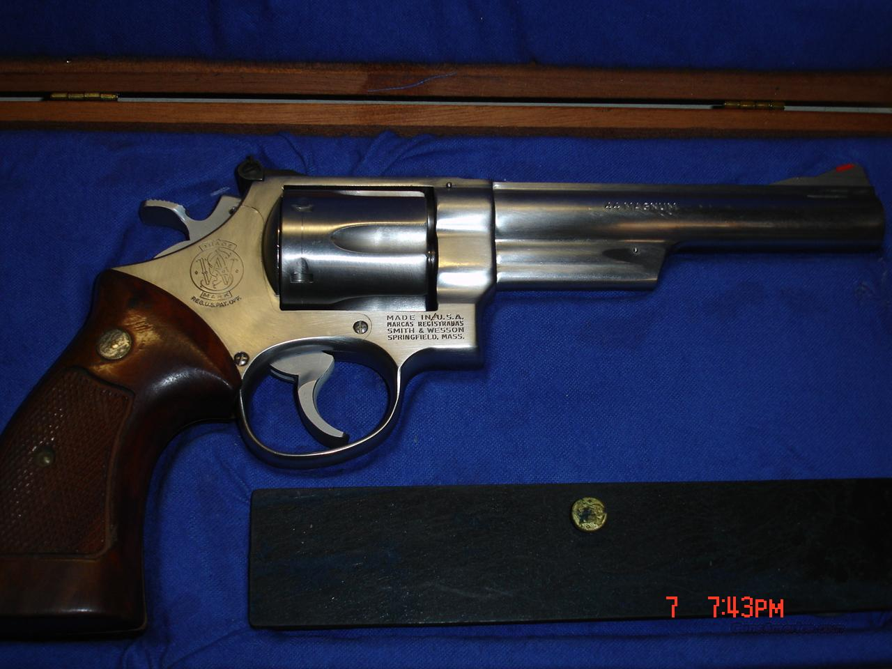 S&W MODEL 629  Guns > Pistols > Smith & Wesson Revolvers > Model 629
