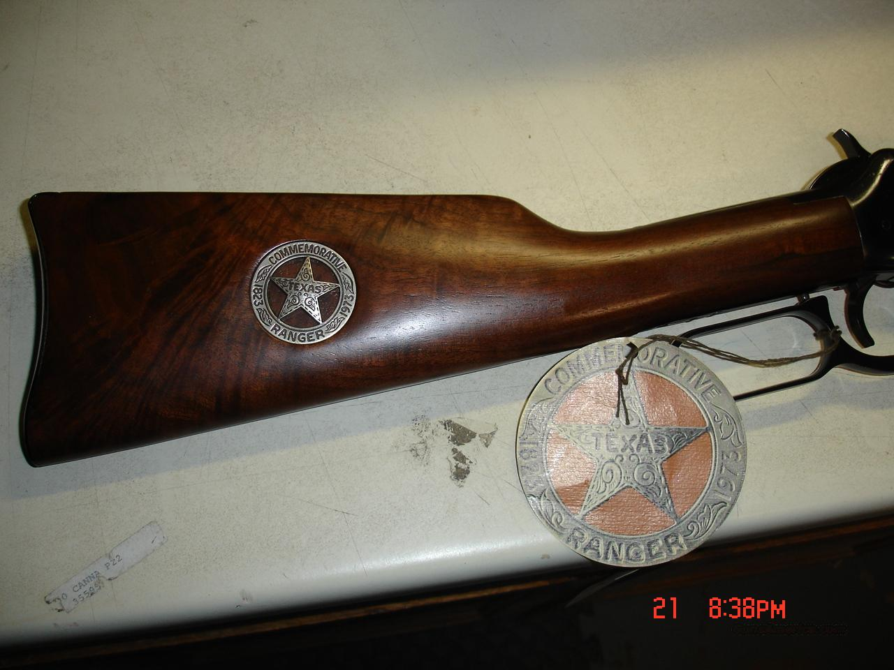 TEXAS RANGER COMMEMRATIVES  Guns > Rifles > Winchester Rifle Commemoratives