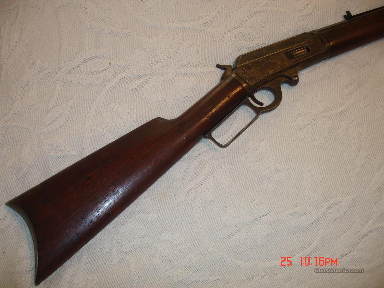 Marlin 38-55  Guns > Rifles > Marlin Rifles > Modern > Lever Action