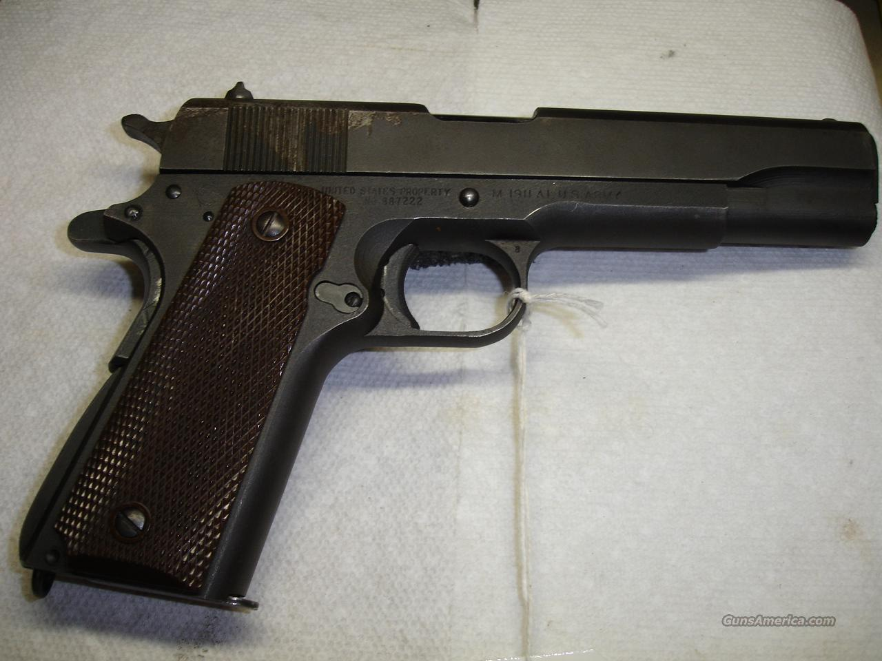 ITHACA 1911A1  Guns > Pistols > Military Misc. Pistols US > 1911 Pattern