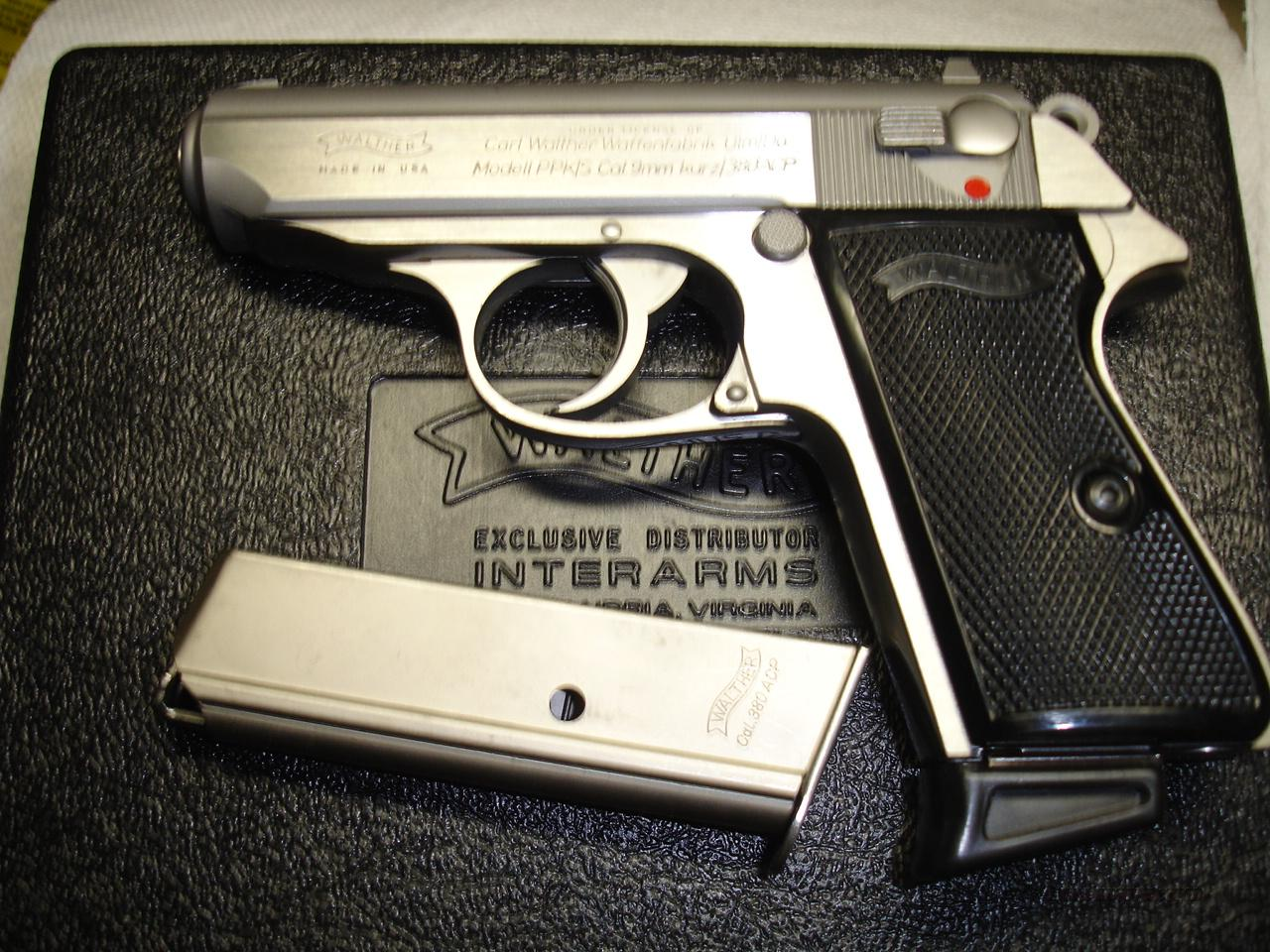 WALTHER PPKS  Guns > Pistols > Walther Pistols > Post WWII > PPS