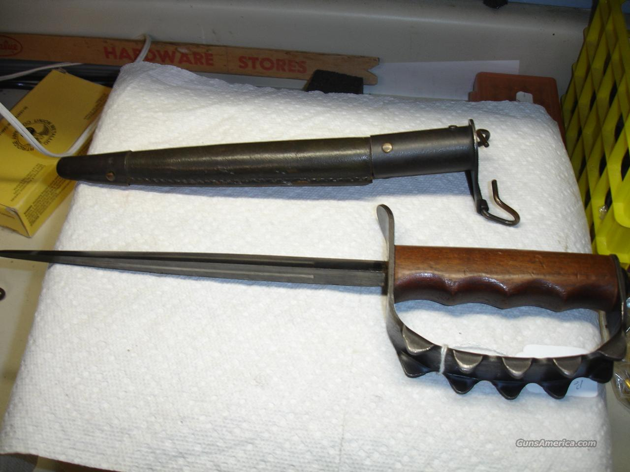 WWI TRENCH KNIFE  Non-Guns > Knives/Swords > Military > Non-Bayonets