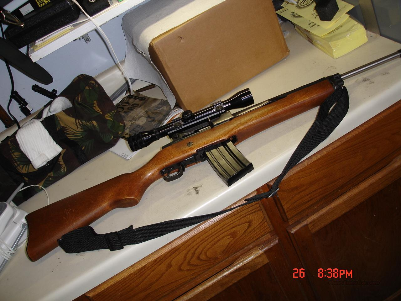 RUGER MINI 14  Guns > Rifles > Ruger Rifles > Mini-14 Type
