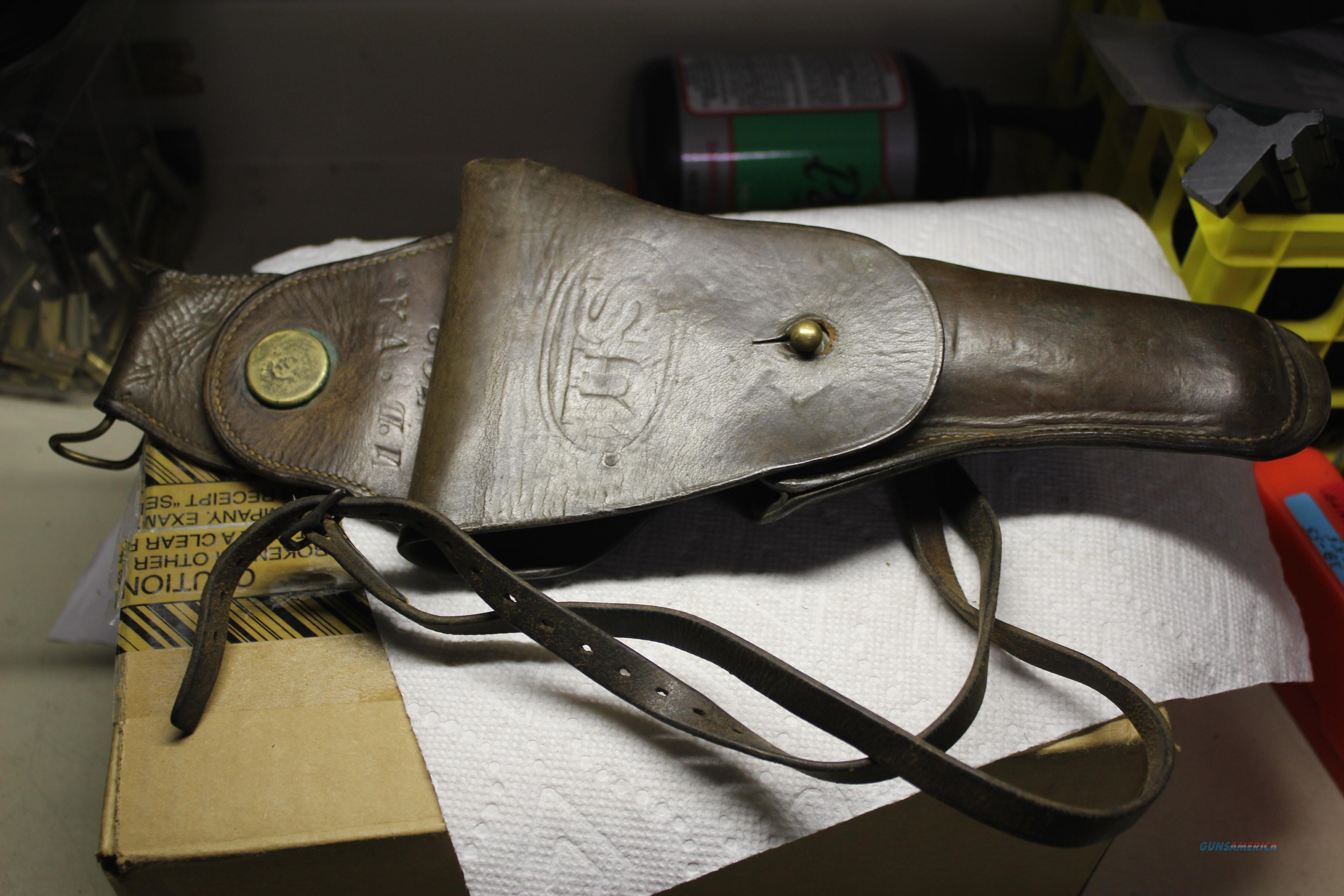 US 1911 CAVALRY HOLSTER  Non-Guns > Holsters and Gunleather > Military