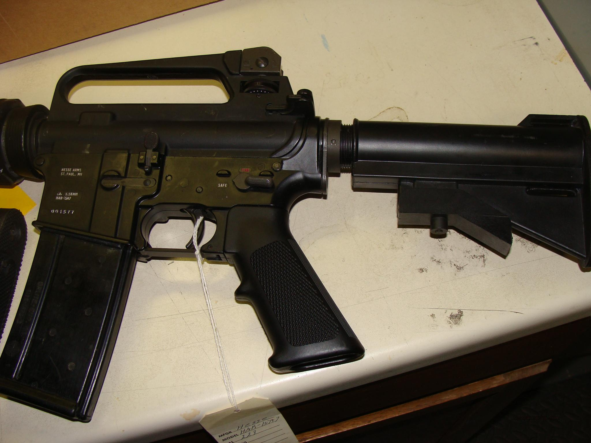 HESSE ARMS AR-15  Guns > Rifles > AR-15 Rifles - Small Manufacturers > Complete Rifle