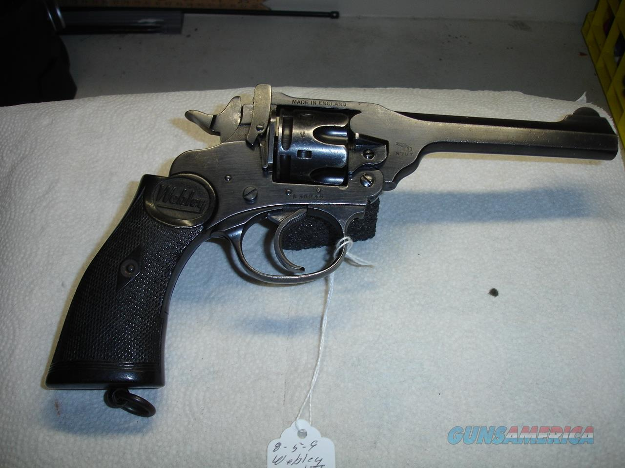 WEBLEY MARK IV   Guns > Pistols > Military Misc. Pistols Non-US