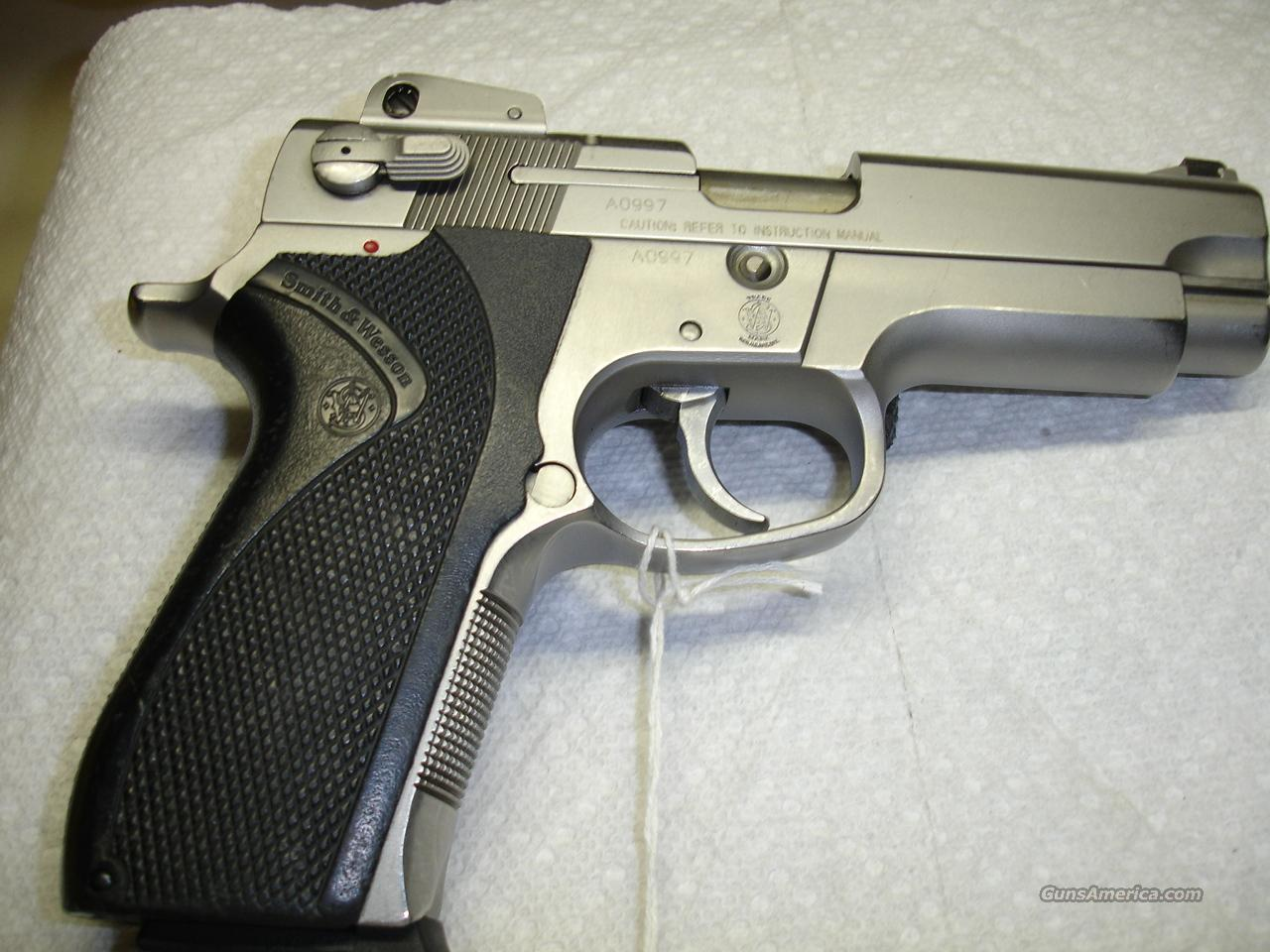 S&W MODEL 4006   Guns > Pistols > Smith & Wesson Pistols - Autos > Steel Frame
