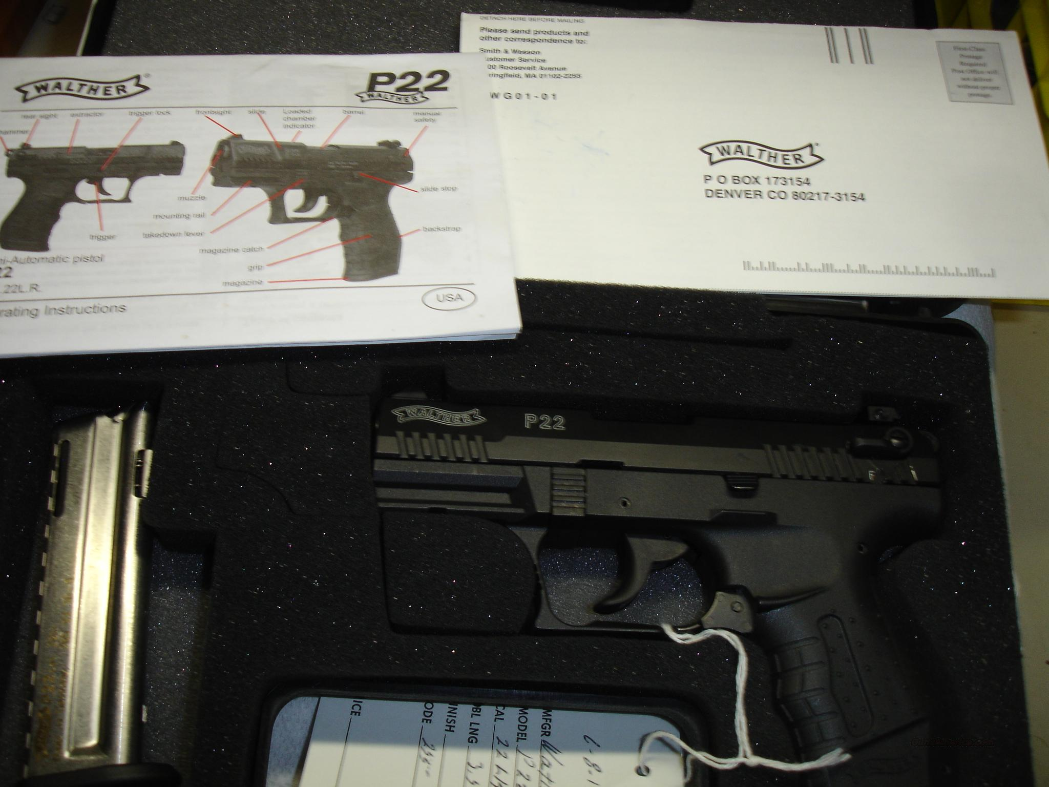 WALTHER PP22  Guns > Pistols > Walther Pistols > Pre-1945 > PP