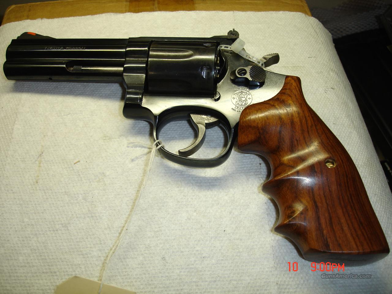 S&W MODEL 596  Guns > Pistols > Smith & Wesson Revolvers > Full Frame Revolver