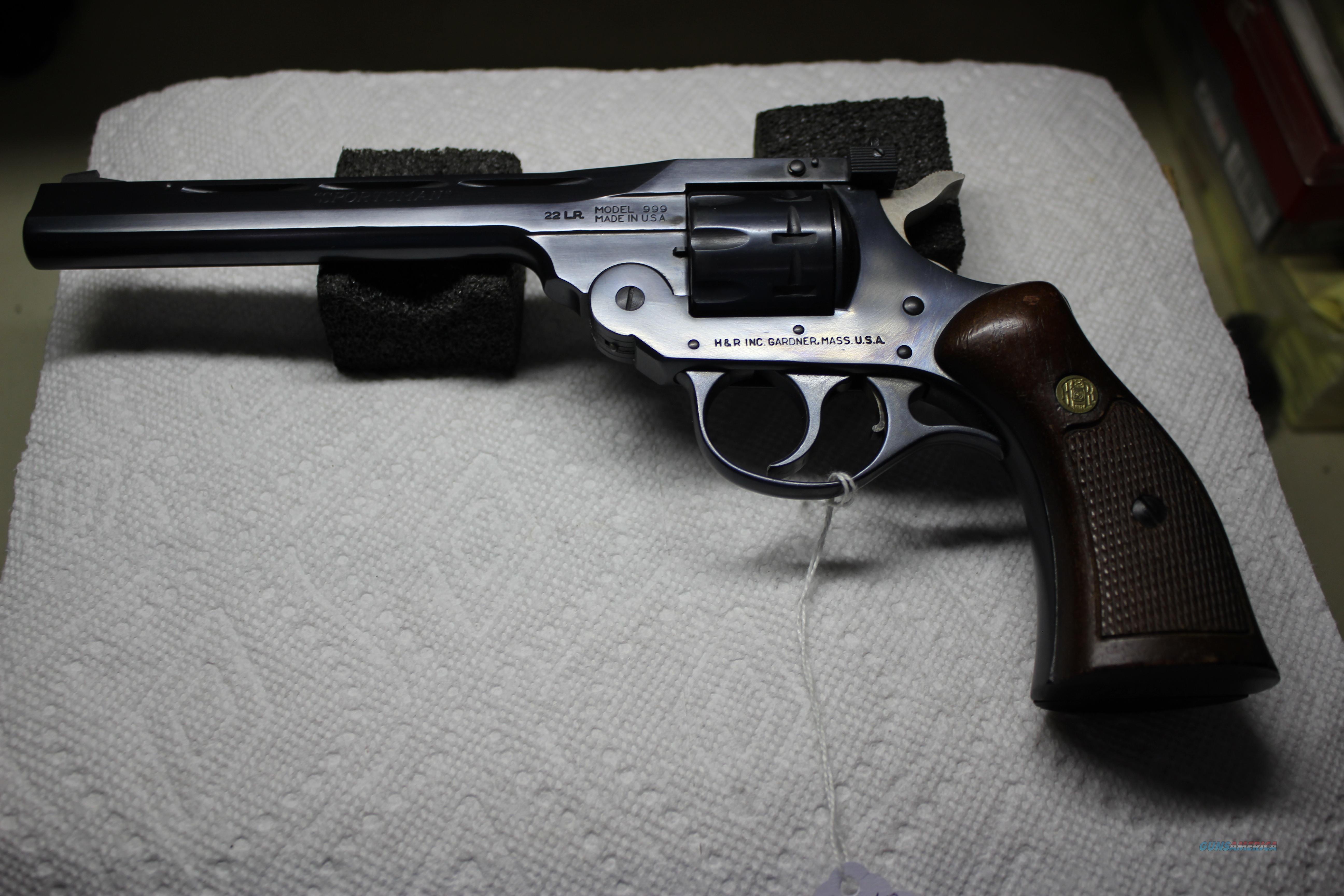 H&R SPORTSMAN 999  Guns > Pistols > Harrington & Richardson Pistols