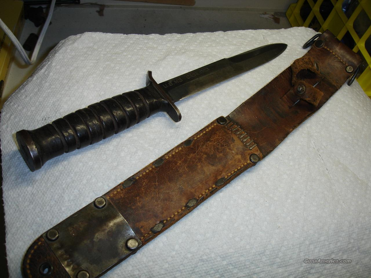 CASE TRENCH KNIFE  Non-Guns > Knives/Swords > Military > Non-Bayonets